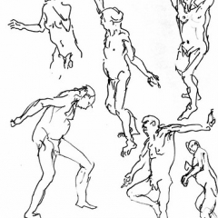 "male nude 1 minute poses • <a style=""font-size:0.8em;"" href=""http://www.flickr.com/photos/61377761@N00/13625796133/"" target=""_blank"">View on Flickr</a>"