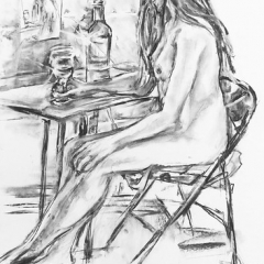 "female nude with wine glass • <a style=""font-size:0.8em;"" href=""http://www.flickr.com/photos/61377761@N00/13626137074/"" target=""_blank"">View on Flickr</a>"