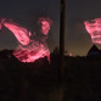 """Ghostly laser apparitions • <a style=""""font-size:0.8em;"""" href=""""http://www.flickr.com/photos/61377761@N00/15992504472/"""" target=""""_blank"""">View on Flickr</a>"""