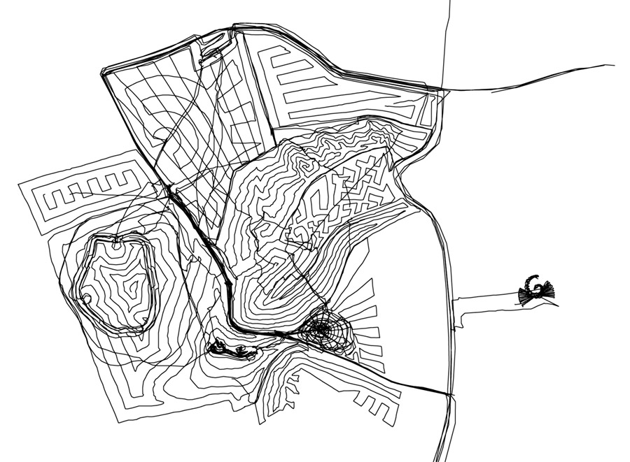 White Horse Hill GPS Drawing