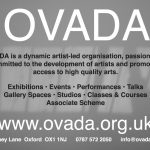 et voila! perfect background for OVADA flyer