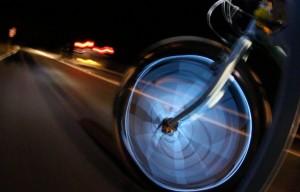 Rickshaw aglow