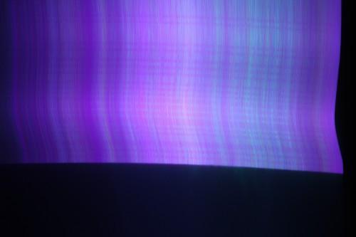 RGB laser line generator beam sweep.